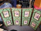 Vintage fireplace screen