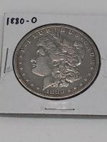 1880 - O Morgan Silver Dollar