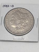 1883 - O Morgan Silver Dollar