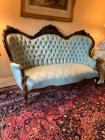Very fine rosewood Triple arch Victorian sofa