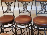 3 Cheyenne homes swivel barstools