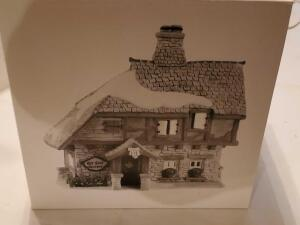 "Department 56, heritage village collection, ""ye East rectory"" still in the box"