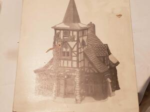 "Department 56, dickens'village series ""old Michael hutch"" still in the box"