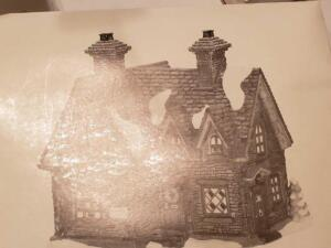 "Department 56, dickens'village series, ""barmby Moor cottage"" still in box"