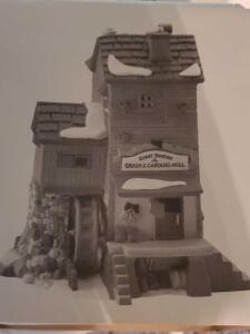 "Department 56 dickens'village, ""great Denton Mill"" in original box"