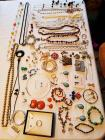 Grouping of costume jewelry. Many Premier Designs pieces