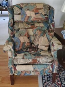 A peoploungers tufted recliner