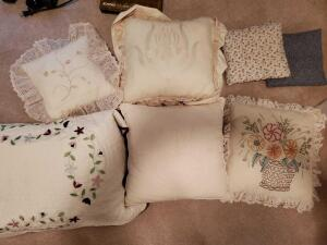 An assortment of linens and things