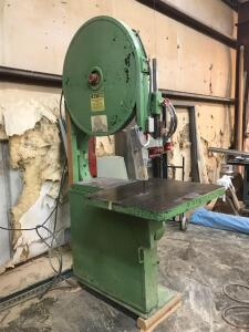 "3 HP 3 Phase Direct Drive 36"" Moak Band Saw"