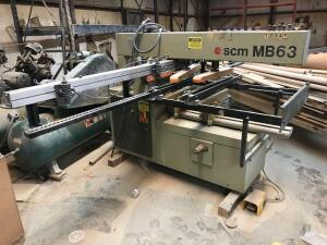 SCM MB63 Boring Machine with Extra Color Coates Bits