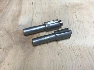 "Pair of 1/2"" Wide Router Bits"