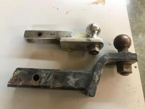 Pair of trailer Hitches