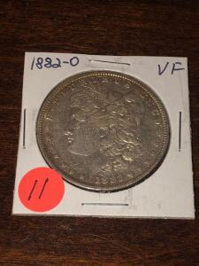 1882 -O Morgan Silver Dollar
