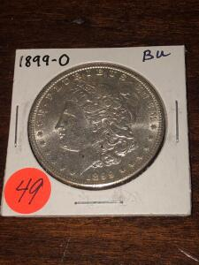 1899 - O Brilliant Uncirculated Morgan Silver Dollar
