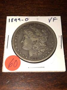 1899 - O Morgan Silver Dollar