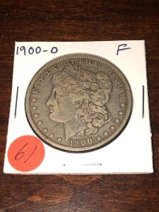1900 - O Morgan Silver Dollar