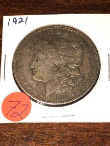 1821 Morgan Silver Dollar