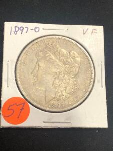 1897 - O Morgan Silver Dollar