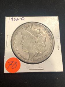 1902 - O Morgan Silver Dollar