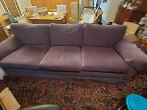 A vintage couch, made by isbell gerhardt, in remarkable condition