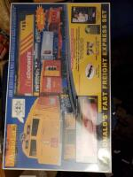 New in unopened box, railking ready to run McDonald's train ser