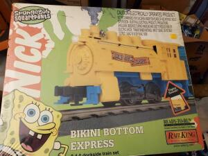 New, unopened in box! Railking ready to run SpongeBob SquarePants train set