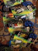 A grouping of 10 unopened star wars the power of the force figurines, see pics