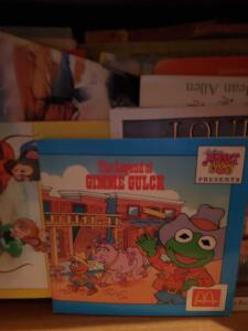 A box of children's books
