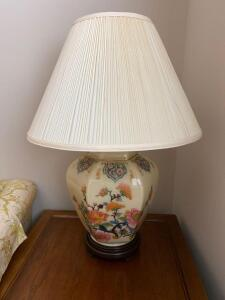 Ginger jar style lamp 27 inches tall