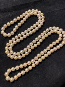 "40"" Strand of pearls"