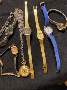 7 vintages watches