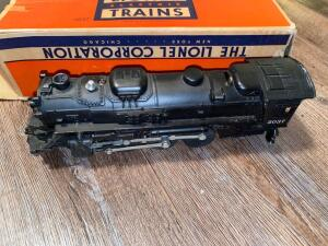 Lionel train engine with box