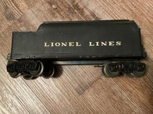Lionel train coal car metal and plastic