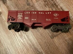 Lehigh Valley Lionel Train Car plastic and metal