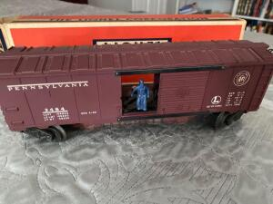 Lionel train No. 3484 Operating Box Car