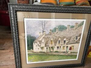 "331/7800 beautifully framed print of ""Returning Home"" by Tom Caldwell"