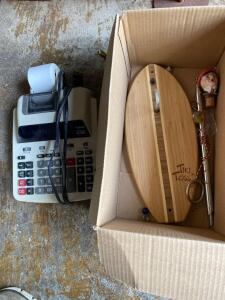 Canon calculator (works) & Tiki Toss game