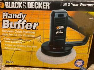 Black and Decker Electric buffer