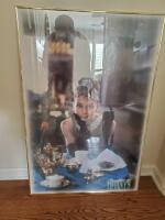 "Beautiful ""breakfast at tiffany's framed poster"