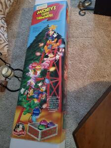 Mr Christmas Mickey's tree trimmer