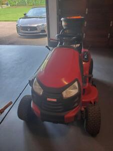Craftsman 21 hp lawn tractor, model yt3000