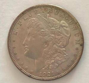 1921 US Morgan Silver Dollar. XF condition
