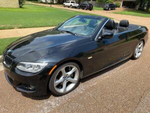 2011 BMW 328i Black Convertible