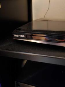 Toshiba blue ray player.