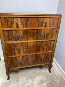 Retro four drawer chest