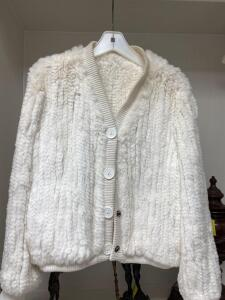 Fabulous rabbit sweater style jacket