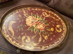 Beautiful decorative tray