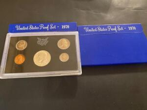 Two 1970 United States proof set