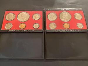 Two United States proof set 1973