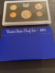 Two 1971 United States proof sets